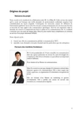 Business Plan Agence-de-communication Page 3