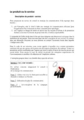 Business Plan Agence-de-communication Page 4