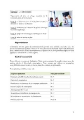 Business Plan Agence-de-communication Page 5