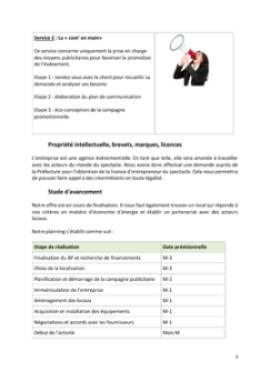 Business Plan Agence-evenementielle Page 5