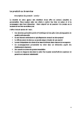 Business Plan Agence-immobiliere Page 4