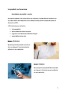 Business Plan Application-mobile Page 5