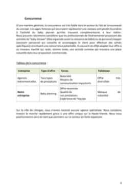 Business Plan Baby-planner-coach-parental Page 8