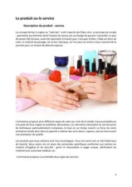 Business Plan Bar-a-ongles Page 4
