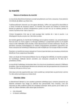 Business Plan Bar-a-sourire Page 7