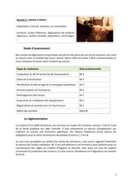 Business Plan Bar-a-theme-bar-a-vins Page 5