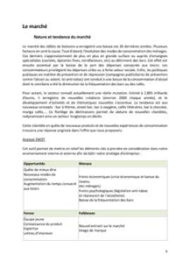 Business Plan Bar-a-theme-bar-a-vins Page 6