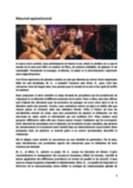 Business Plan Boite-de-nuit Page 2