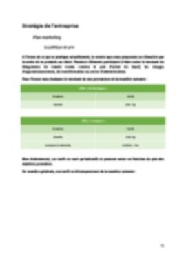 Business Plan Boucherie Page 11