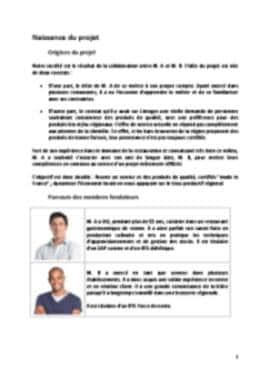Business Plan Brasserie Page 3