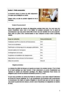 Business Plan Brasserie Page 5