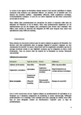 Business Plan Cabinet-de-formation Page 9