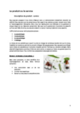 Business Plan Cabinet-de-naturopathie Page 5