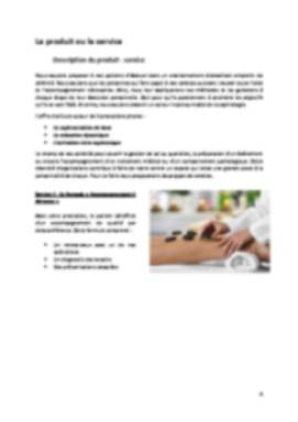 Business Plan Cabinet-de-sophrologie Page 4
