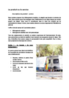 Business Plan Camping Page 5