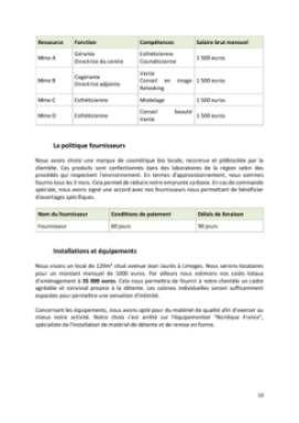 Business Plan Centre-de-bien-etre-spa Page 10