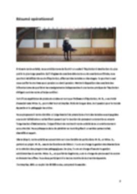 Business Plan Centre-equestre Page 2