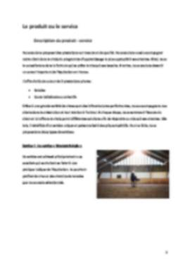 Business Plan Centre-equestre Page 5