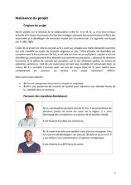 Business Plan Commerce-de-cigarettes-electroniques Page 3