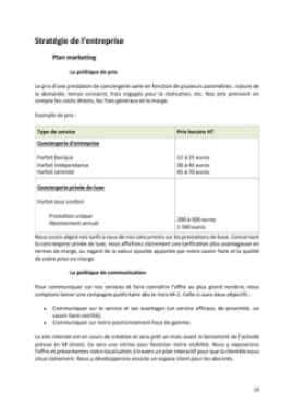 Business Plan Conciergerie-pour-particuliers-et-entreprises Page 10