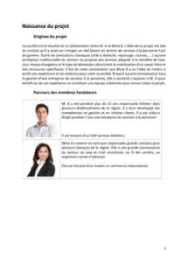 Business Plan Conciergerie-pour-particuliers-et-entreprises Page 3