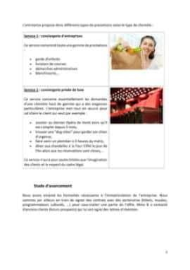 Business Plan Conciergerie-pour-particuliers-et-entreprises Page 5