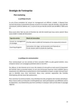 Business Plan Consultant-en-management-et-strategie-dentreprise Page 10
