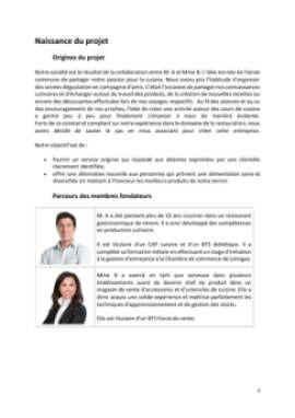 Business Plan Cours-de-cuisine-a-domicile Page 3