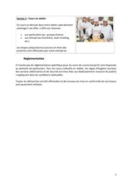 Business Plan Cours-de-cuisine-a-domicile Page 5