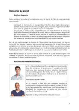 Business Plan E-commerce-vente-en-ligne Page 3