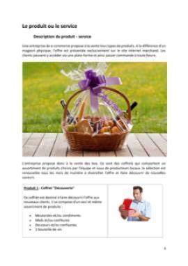 Business Plan E-commerce-vente-en-ligne Page 4