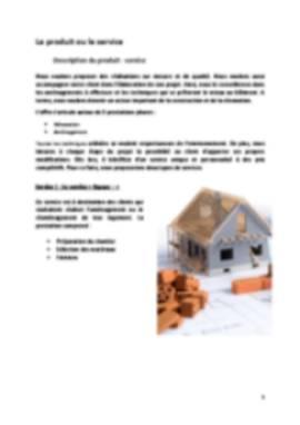 Business Plan Entreprise-btp Page 5
