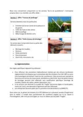 Business Plan Entreprise-de-bricolage-et-de-jardinage Page 5