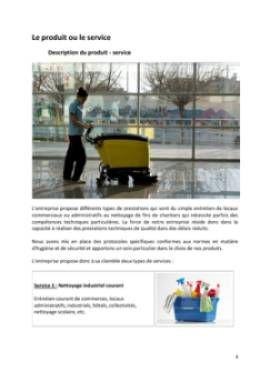 Business Plan Entreprise-de-nettoyage Page 4