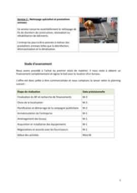 Business Plan Entreprise-de-nettoyage Page 5