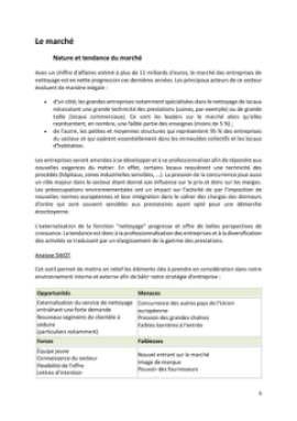 Business Plan Entreprise-de-nettoyage Page 6
