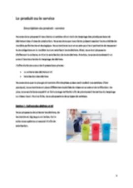 Business Plan Entreprise-recyclage Page 5