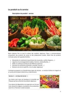 Business Plan Epicerie-fine Page 4
