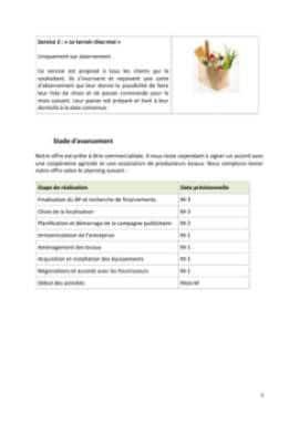 Business Plan Epicerie-fine Page 5