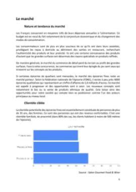 Business Plan Epicerie-fine Page 6