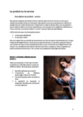 Business Plan Escape-game Page 5