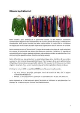 Business Plan Fashion-trucks-camions-vetements Page 2