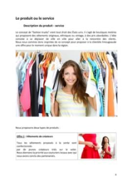 Business Plan Fashion-trucks-camions-vetements Page 4