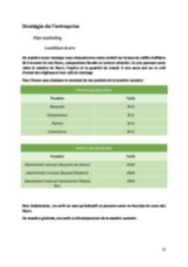 Business Plan Fleuriste Page 11