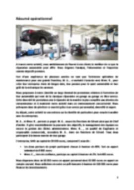 Business Plan Garage Page 2
