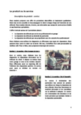 Business Plan Garage Page 4