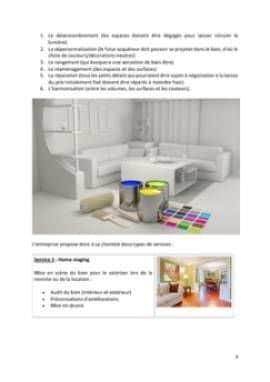 Business Plan Home-staging-decorateur-dinterieur Page 4