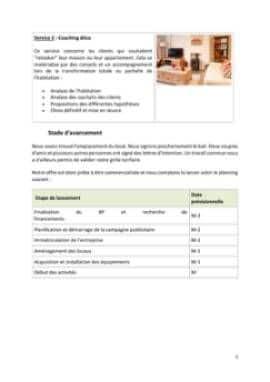 Business Plan Home-staging-decorateur-dinterieur Page 5