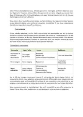 Business Plan Home-staging-decorateur-dinterieur Page 8