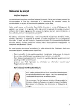 Business Plan Hotel-restaurant Page 3
